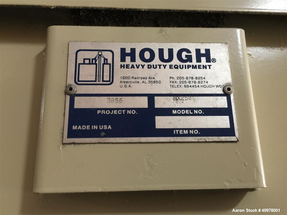 Used Hough Heavy Duty Ribbon Blender