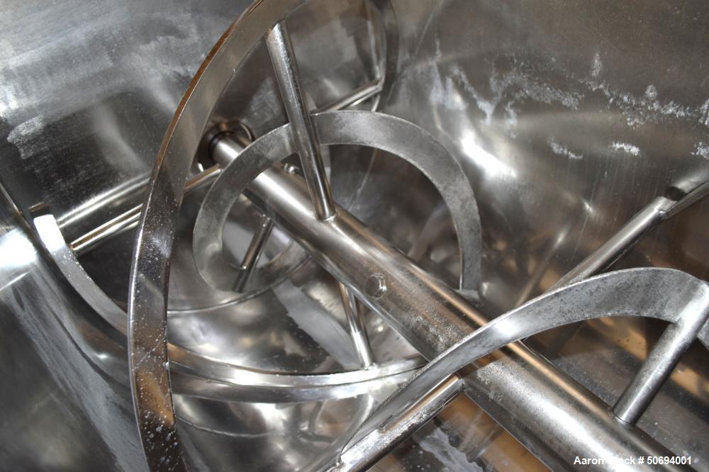 Used- J.H. Day Double Spiral Ribbon Blender, Model D-10F