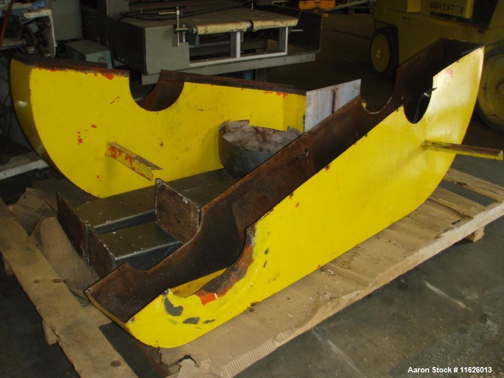 Used- Stainless Steel Jones Superior Double Ribbon Blender, 100 cubic feet