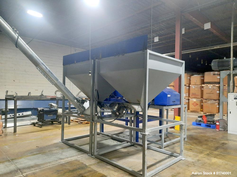Used-Jiangsu Lantai Machinery Co. Stainless Steel Double Ribbon Blender
