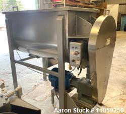 Used-30 Cu.Ft. Sanitary Stainless Steel Ribbon Blender