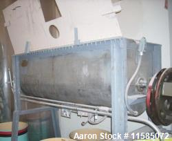 Used-20 Cubic Foot (approximately) T316 Stainless Steel Ribbon Blender