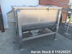 Used- Ribbon Blender, Approximately 150 Cubic Foot