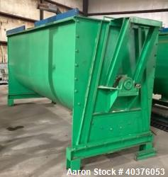 Used- 420 Cubic Foot CS Double Ribbon Blender