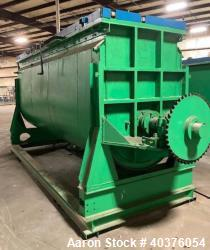 Used- 300 Cubic Foot SS Jacketed SS Double Ribbon Blender