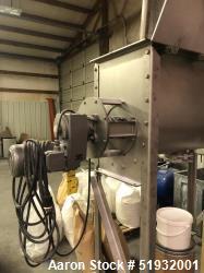 Used-Industrial Screw Conveyor, Ribbon Blender