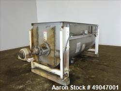 Used- Aaron Process Equipment Double Spiral Ribbon Blender
