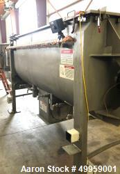 Used- American Process Double Spiral Ribbon Blender, Model DRB-95, 95 Cubic Feet