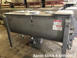 Used- American Process Double Spiral Ribbon Blender, Model DRB-95.
