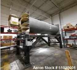"""Used-American Process Cylindrical  Ribbon Blender, Model M420, Approximately 70"""" diameter, Stainless steel, Approximately 40..."""