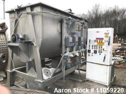 Used- Bepex Ribbon Blender, 87 Cubic Feet