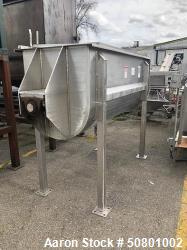 Used- Hayes & Stolz 52 Cu. Ft. Double Ribbon Blender