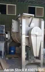 Used- Recuequip Ribbon Blender, Type M. Horizontal.