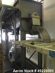 Used- Scott Ribbon Blender, 85 Cubic Foot Working Capacity.