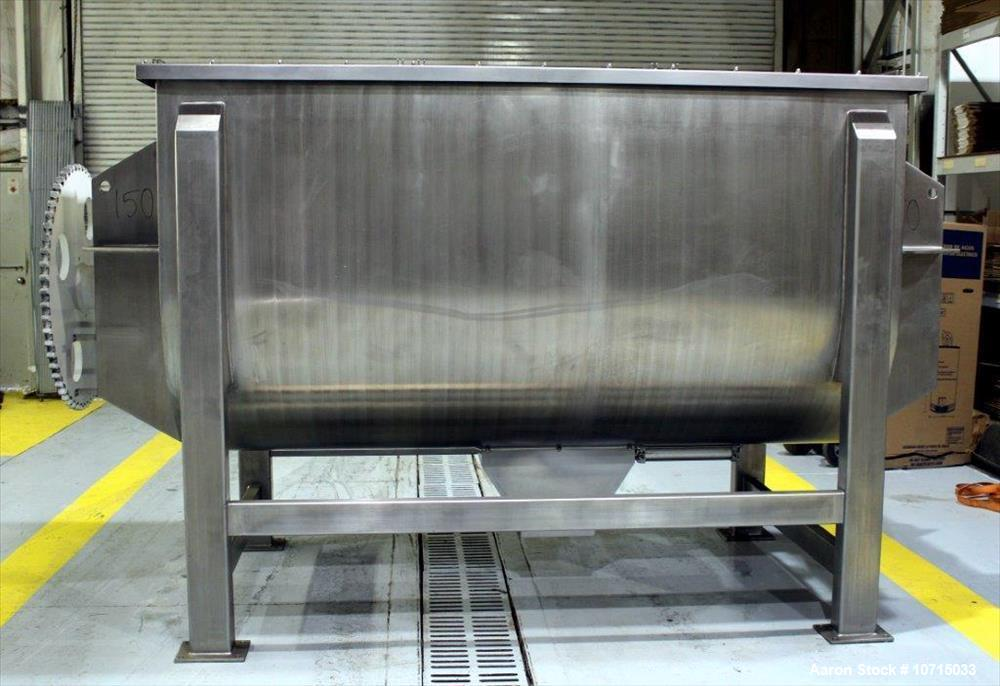 New- Paul O. Abbe Model IMB-200, 200 Cubic Foot working capacity Ribbon Blender.