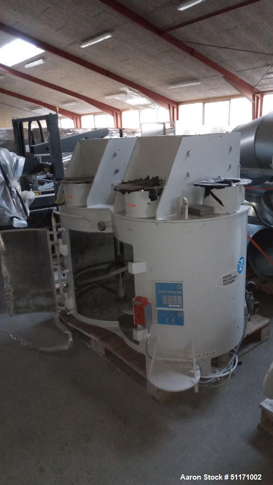 Used- Gebr. Ruberg Mischtechnik KG Vertical Twin Spiral Batch Mixer