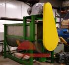 Used- 100 Cubic Foot Double Spiral Ribbon Mixer.