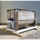 Used- 230 Cubic Foot American Process Stainless Steel Double Ribbon Blender