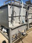 Used- Stainless Steel Ribbon Blender, 125 Cubic Foot.