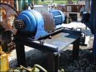 Unused-Used Day 100 Cubic Foot Ribbon Blender. Stainless steel construction, 40