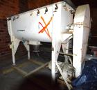 Used- Young Machinery Double Spiral Ribbon Blender, Approximately 40 Cubic Feet, Stainless Steel. Non-jacketed trough 32