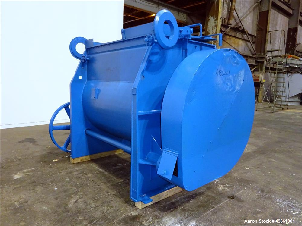 Used- Ribbon Blender, Approximate 45 Cubic Feet