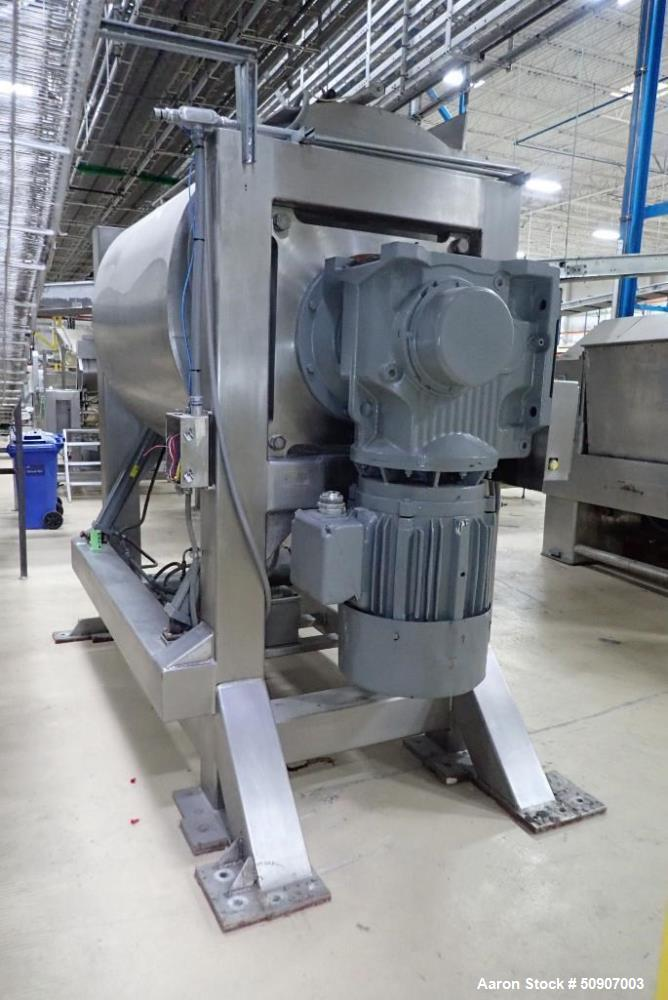 Used- Shaffer Triple Bar Mixer, Model 16-HS-S0FD