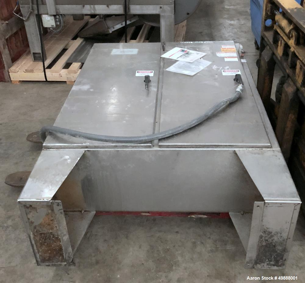 Used- Shaffer Roller Bar Dough Mixer, Model HS 2