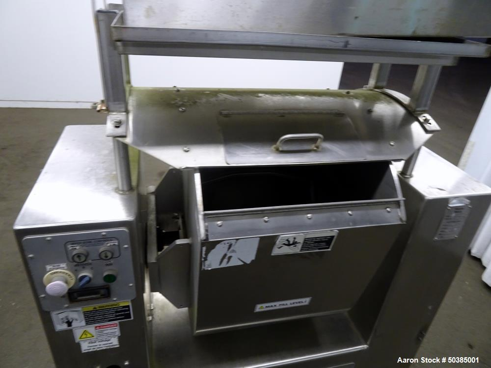 Used- Magna High Speed Single Arm Mixer, Model 50H-4C1-208, 304 Stainless Steel.