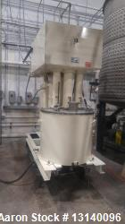 Used- Charles Ross & Sons, Triple Shaft Vacuum Mixer, Model PVM-100