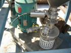 Used-Tri-Clover Tri-Blender Mill, Model F3218MD-S-EXP. Unit is driven by a 15 hp, 1760 rpm, 230/460 volt, 254TC frame Relian...