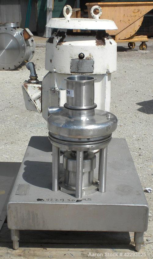 Used- Stainless Steel Tri-Clover Tri-Blender, model F3218MD-BBVS