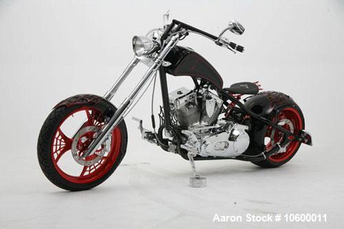 Unused-2007 Orange County Choppers Web Bike