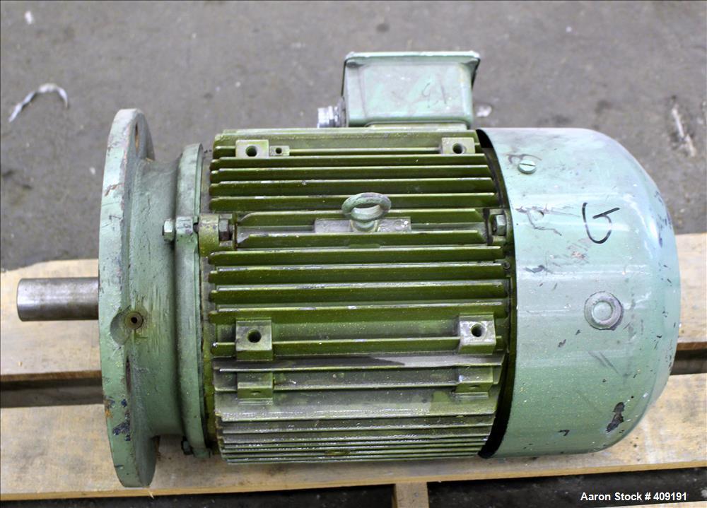 Used-Hawker Siddeledy Electric Motors AC Motor, 15 HP, Frame L254TD. 3