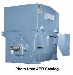 Unused- ABB Electric Motor, Type AMI 630L12A BSH