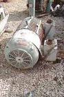 Used- Westinghouse 200 hp drive motors. 3/60/460/1755, 1.15 sf, 449 T-frame, TEFC, thermally protected, Wye-Delta, less pull...