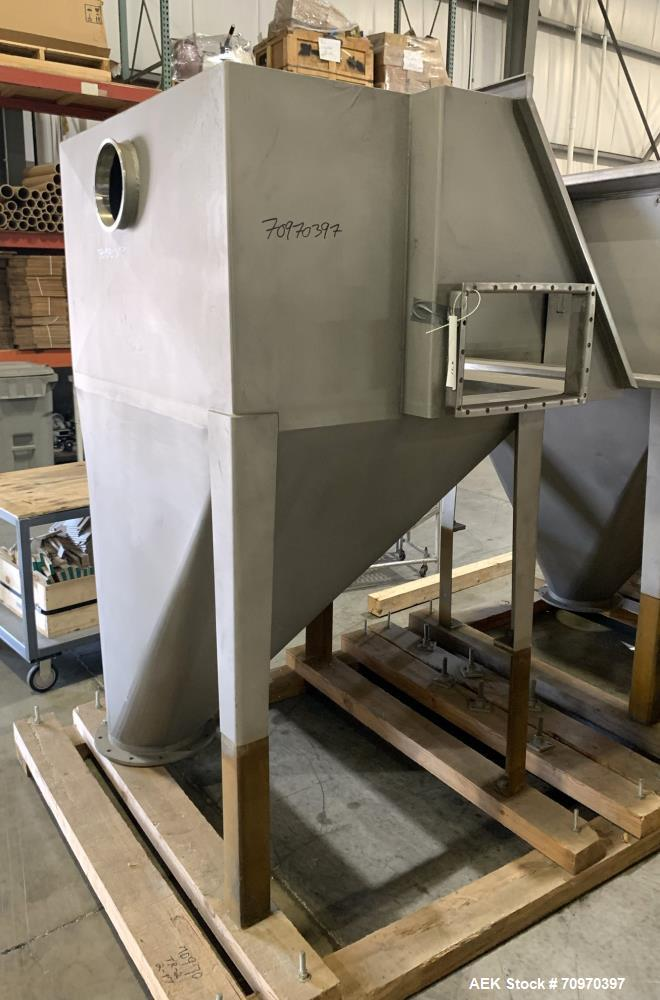 Unused- American Process Systems (Eirich Machine) Non Filtered Bag Dump Station, Model NFBD-200, 304 Stainless Steel. Serial...