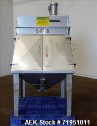 Used- American Process Systems Filtered Bag Dump Station, Model FBD-200