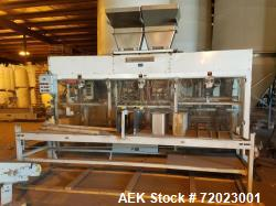 Used- Bemis Duplex Automatic Bagging System, Model 7130A. Includes: Parsons-Eagle, model DUPLEX EVM-4II, scale. 1/60/120v; C...