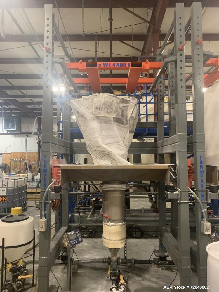 Used- Adjustable Bulk Bag Unloading Station