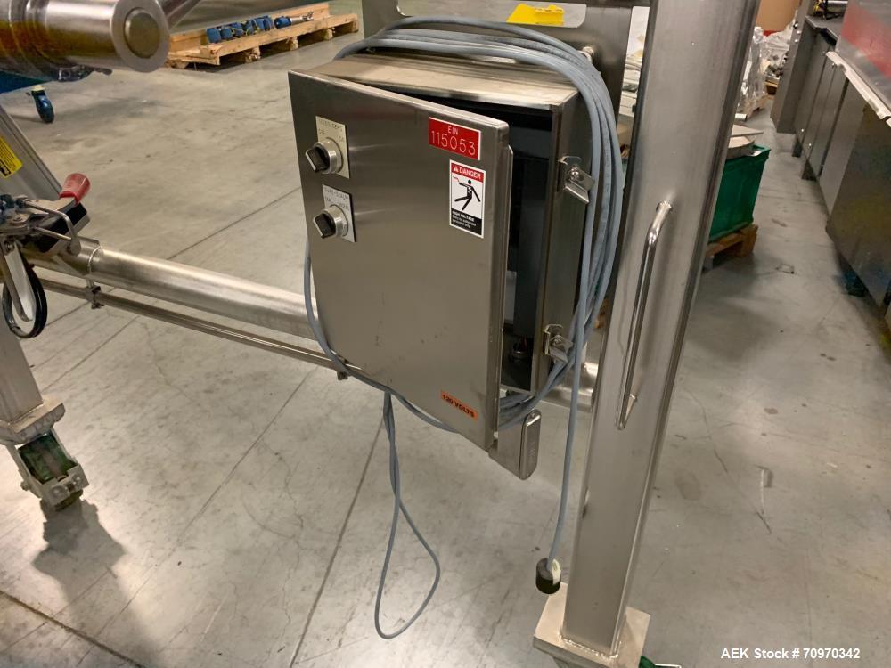 Used- Material Transfer Super Sack Unloader.