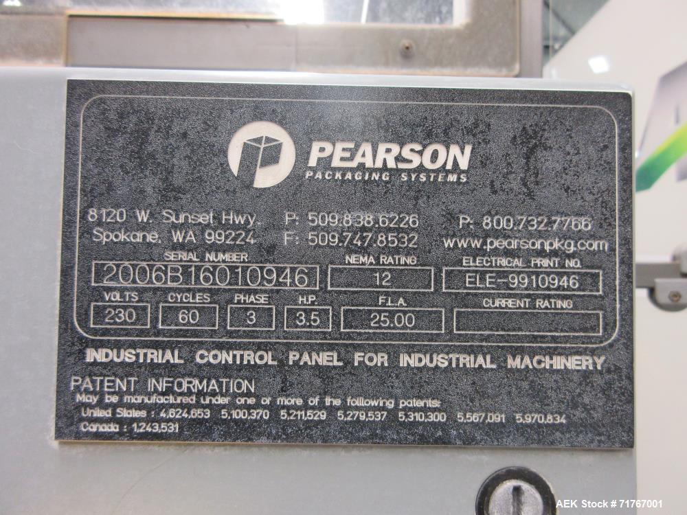 Used- Pearson Model B160 Adjustable Bag Inserter