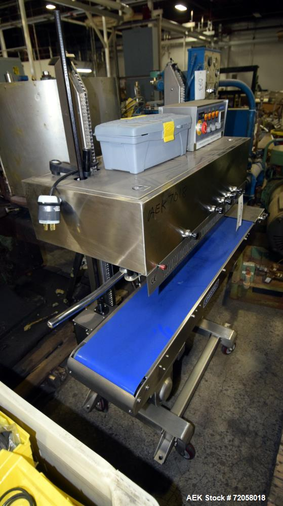 Jorestech Continuous Band Sealer, Model CBS-1010CIN