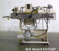 Used- Fischbein Model DRC-2 Paper Bag Hot Melt Glue Sealer.