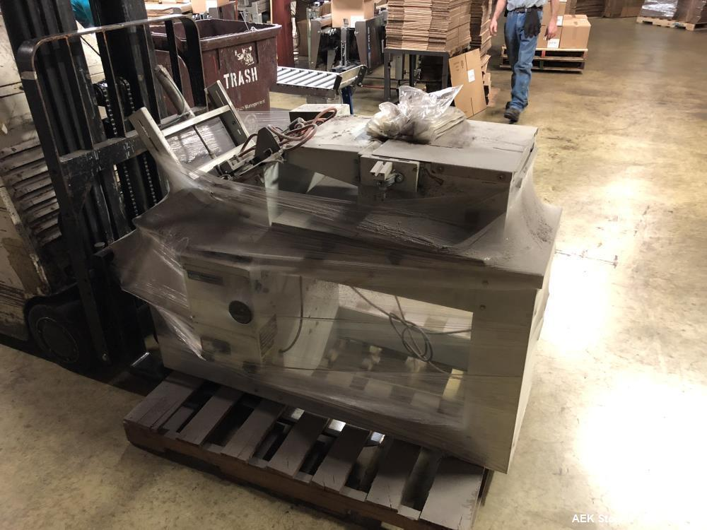 Used- Beasley Packaging Machinery Semi-Automatic Drop-Through Bag Sealer