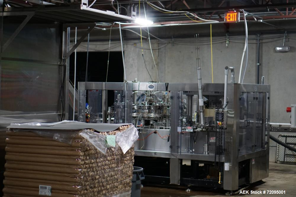 Used- Palmer Rotary Can Line, 24 Head