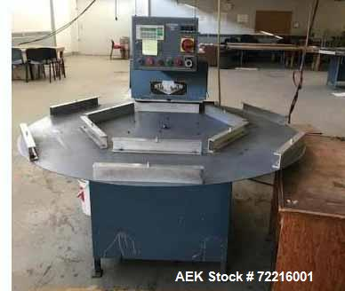 Used- Starview Semi-Automatic Rotary Blister Sealer
