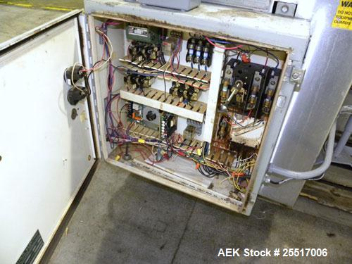 Used- Standard Bottle Inverter Air Cleaner, Model JI-600-HV. Includes control box and emergency shut-off switches, speed con...