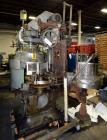 Used- American Can (4) Head Can Closing Machine, Model 458-4DS. Set up for 300x407 cans, disc infeed with spring loaded topp...