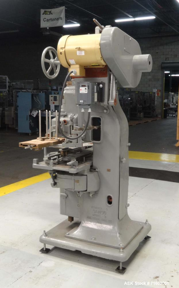 Used- American Can (Canco) Model 08 Single Head Can Seamer